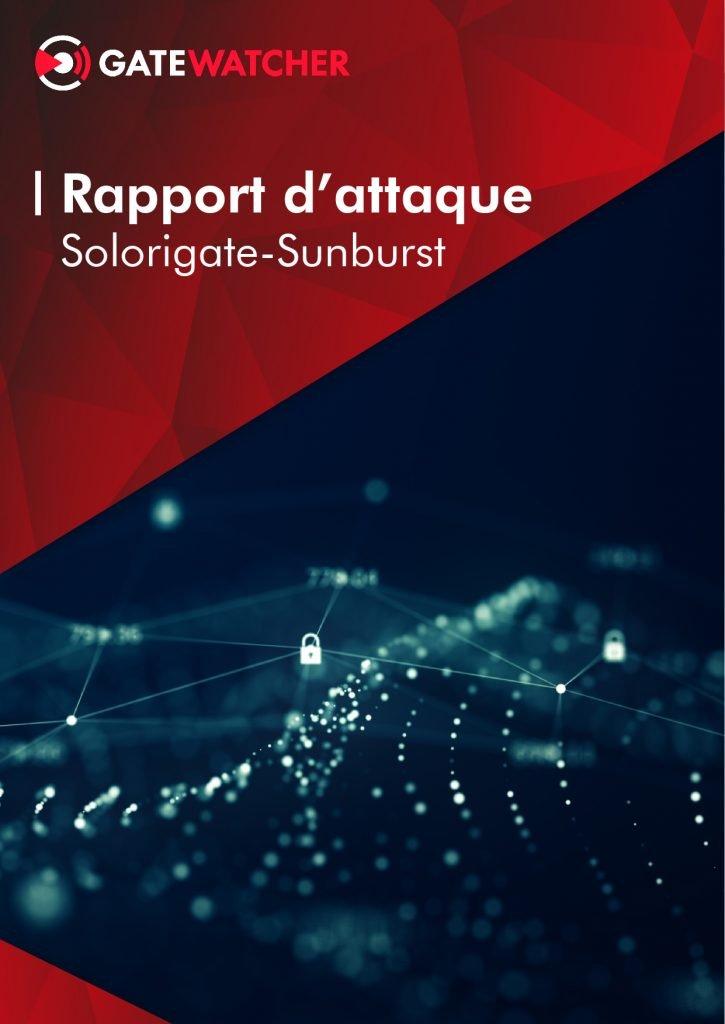 Rapport d'attaque Solorigate-Sunburst